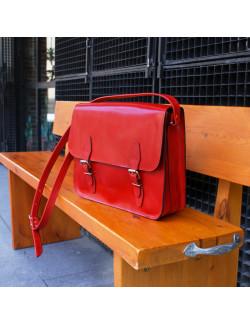Cartera Holanda horizontal en color rojo