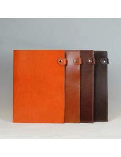 Dosier en color naranja, original, tabaco y choco