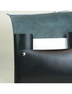Carpeta de gomas en color negro